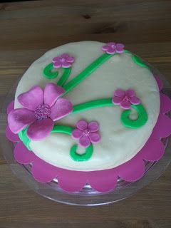 Silmukoita ja suklaakakkua: Onnea Lotta!