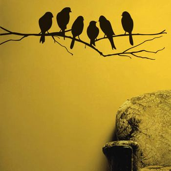 Birds on a branch wall stickers. Available at www.theprettycollection.co.za