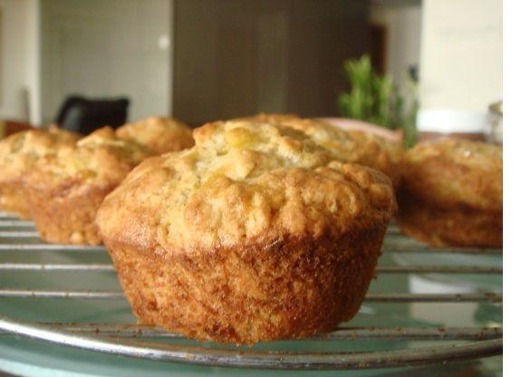 Chrumkavé banánové muffiny