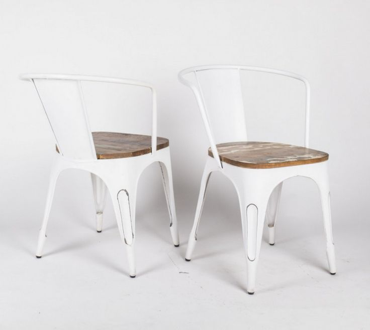 Die besten 25+ Stuhl weiß holz Ideen auf Pinterest Holzstuhl - designer stuehle metall baumstamm