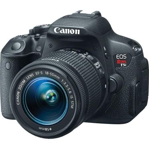 Câmera Digital Canon Dslr Eos Rebel T5i 18 Megapixels Com Lente Ef-S 18-55mm Stm http://compre.vc/v2/c40e2d06 #PreçoBaixoAgora #MagazineJC79