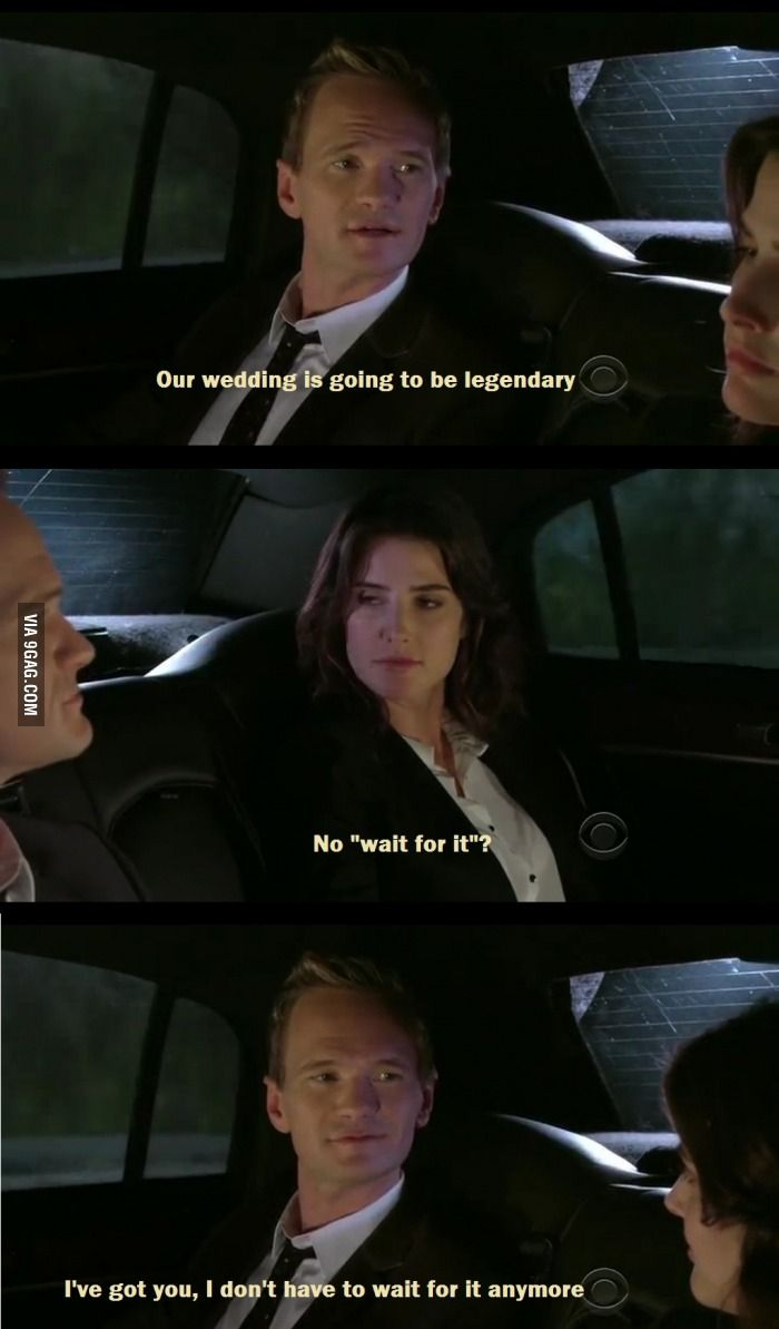 Best HIMYM quote so far. I love how much he loves her!