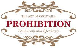 Prohibition Restaurant & Speakeasy | Menu
