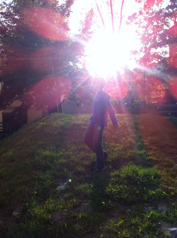Moje sluníčko...30.5.2015 v Krumlově