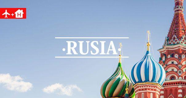 Ofertas Vuelo + Hotel Rusia