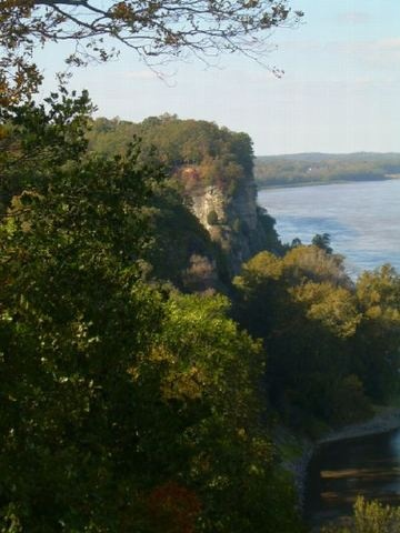 Mississippi River overlook, Cape Girardeau MO