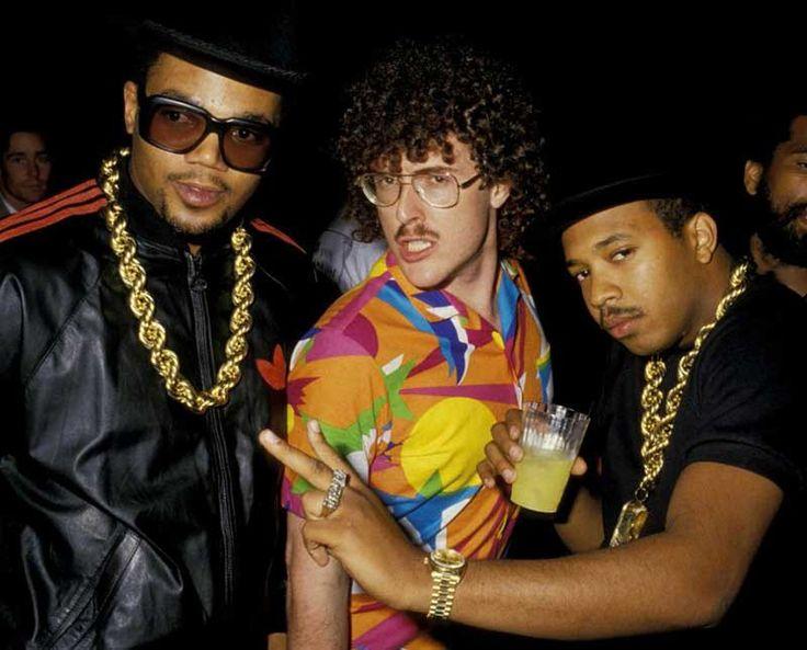 Darryl McDaniels Weird Al Yankovic and Joseph Simmons... Normal...