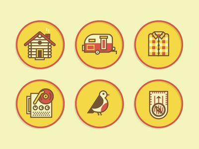 Merit Badge Icons 2