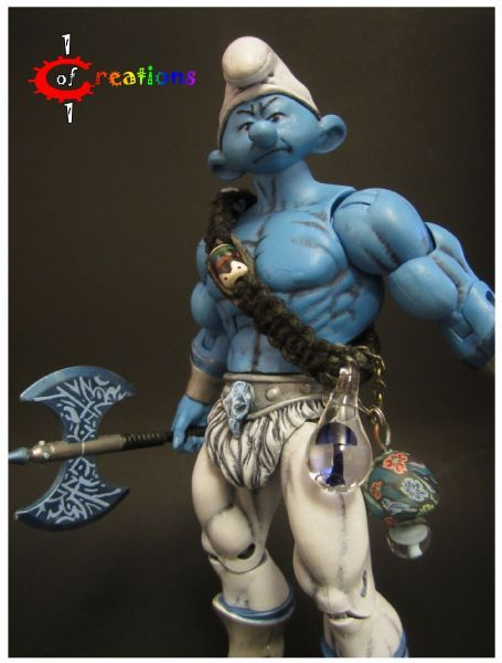He-Smurf (Masters of the Universe) Custom Action Figure