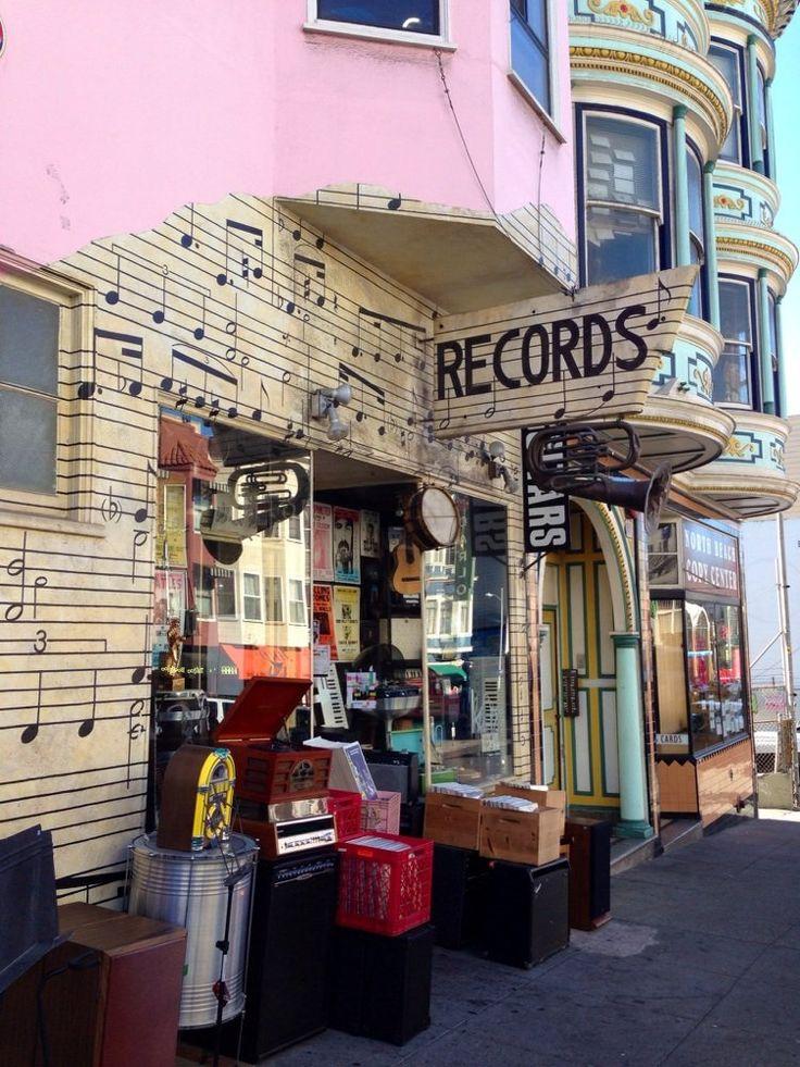 101 Music // San Francisco Record Store // 1414 Grant Ave,  San Francisco, CA 94133 b/t Union St & Green St in North Beach/Telegraph Hill