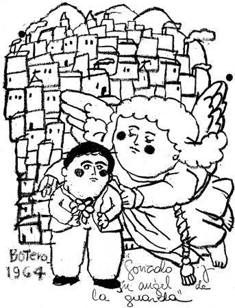 Gonzalo Arango por Fernando Botero