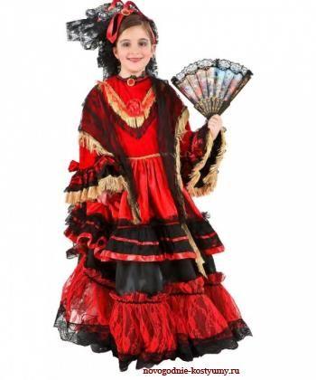 Купить испанское платье