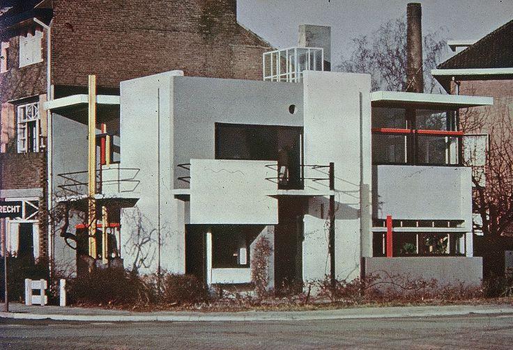 Gerrit Thomas Rietveld – Willa Schroedera w Utrechcie