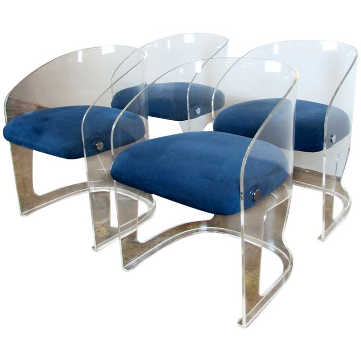 Set Of Four Vladimir Kagan Lotus Chairs | From A Unique Collection Of  Antique And Modern