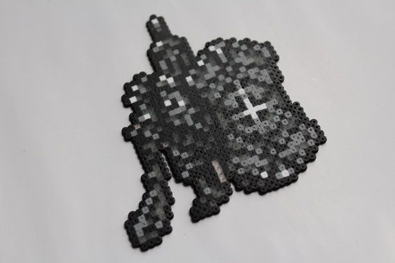 Hama 'Havel the Rock' Sprite by Retr8Bit on Etsy