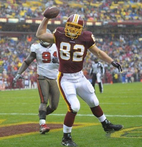 Logan Paulsen TE Washington Redskins (2010-2015)