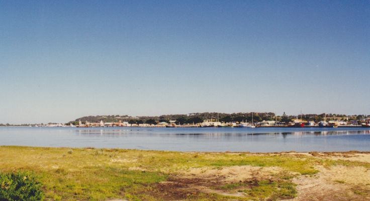 Lakes Entrance is a seaside resort and fishing port in eastern Victoria. The township was originally named Cunninghame, the Post Office of that name opening on 5 February 1870. It was renamed Lakes Entrance on 1 January 1915.