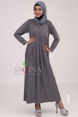 Maxi Dress Motif G896 #maxidress #saqina #busanamuslim