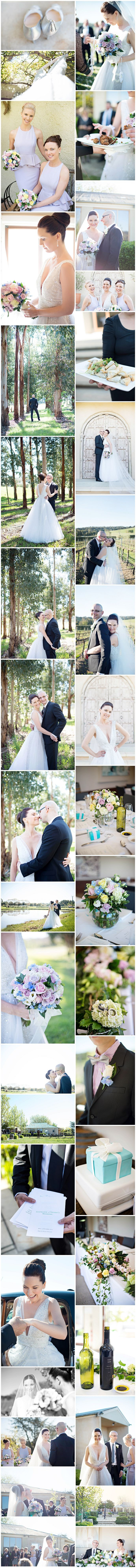 Bird in Hand Winery Wedding Adelaide Hills Wedding Photographed by Emma Sharkey Photography Livia Loren Gown Tiffany Blue themed wedding with touches of pastels. Wedding Inspiration Ceremony and Reception styling