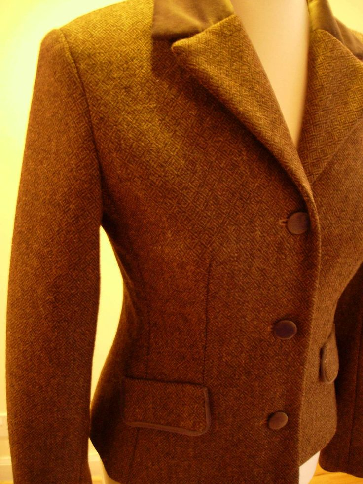Tweed jacket in Ardalanish tweed, secretaries wear these..they never wear out...some are as old as a thousand years...