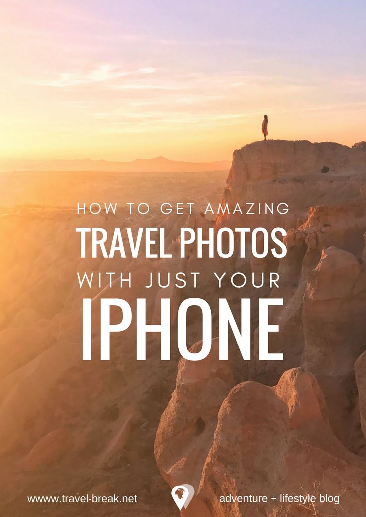 How to take AMAZING travel photos with just your iPhone. Tips, tools and apps to bring your iPhone Photography to life. Travel-Break.net via @TravelBreak