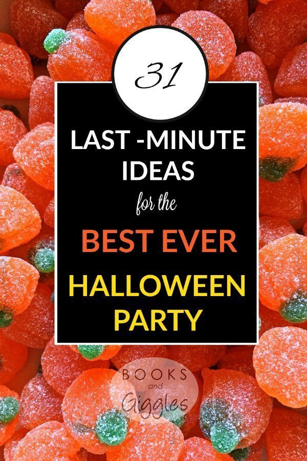 31 last minute ideas for the best ever halloween party