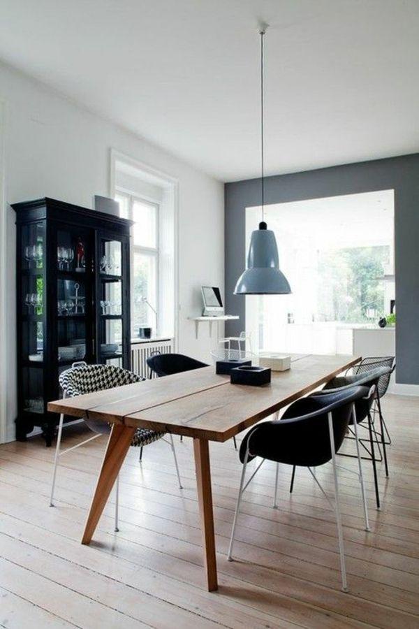 die besten 25 esstisch holz ideen auf pinterest holz. Black Bedroom Furniture Sets. Home Design Ideas