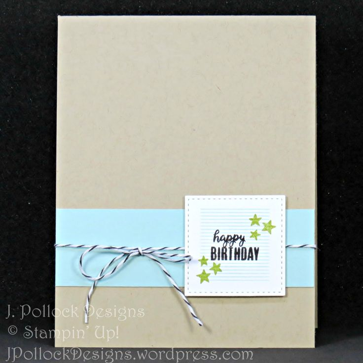 J. Pollock Designs - Stampin' Up! - Tabs for Everything