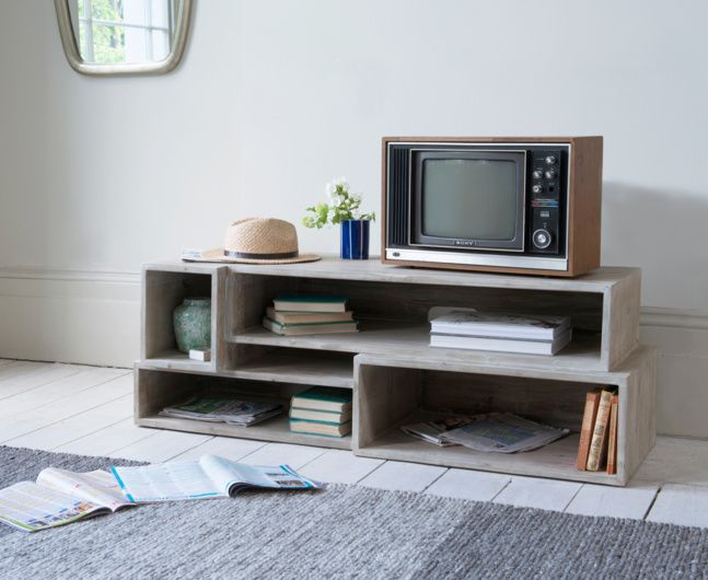 Our Goggle Mate is a super crate style TV stand. This lovely looking TV unit has handy storage to squirrel away all those box sets, gizmos and...