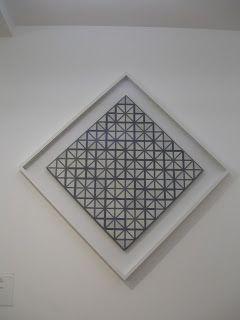 Carrie with grey lines, 1918, 121 cm, Piet Mondriaan