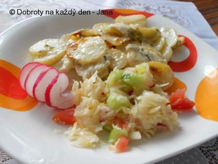 Zapečené brambory s Nivou