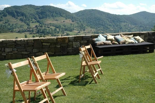 Estas son las fantásticas vistas que tendrás el día de tu #boda en la #casarural en #Camprodon http://www.ruralmeeting.com/en/sala/el-mariner-de-sant-pau/