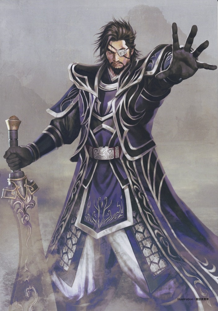 Xiahou Dun - Dynasty Warriors