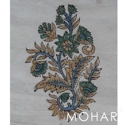 Traditional motifs of hand block printing. #motifs #blockprint #handblock #paisley #largepaisley #blockprintfabric