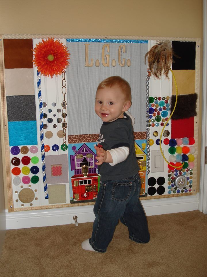love this sensory wall... Repinned by SOS Inc. Resources. Follow all our boards at http://Pinterest.com/sostherapy for therapy resources.