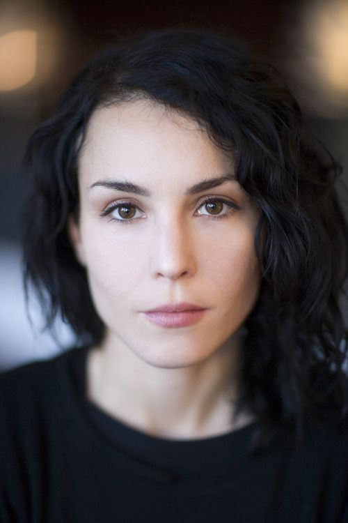 Noomi Rapace. I think it's because I always want to see what I can do to make that smile come out that I know is there.