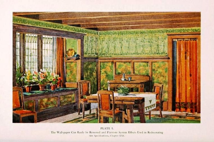 17 best images about 1910s home decor on pinterest paint for Home decor 1910