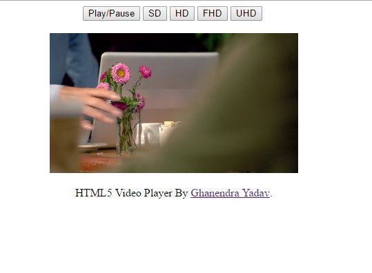PROGRAMMING WITH C, C++ & JAVA: HTML5 Video Player Which Support Multiple Video Re...