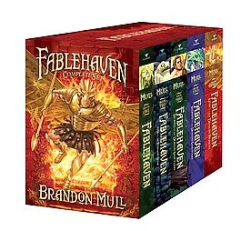 Love this YA series by Brandon Mull (I know the aauthor)