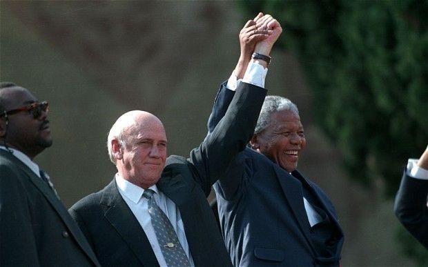 FW de Klerk: not all aspects of apartheid 'morally repugnant'