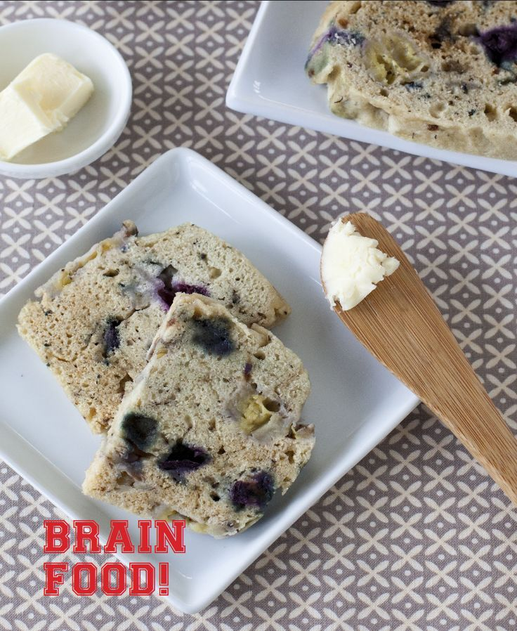 Silicone Steamer 7 Minute Banana Berry Bread (220 calories/serving): The perfect quick breakfast or snack: full of potassium, antioxidants, and nutrition, which translate into brain power and energy.