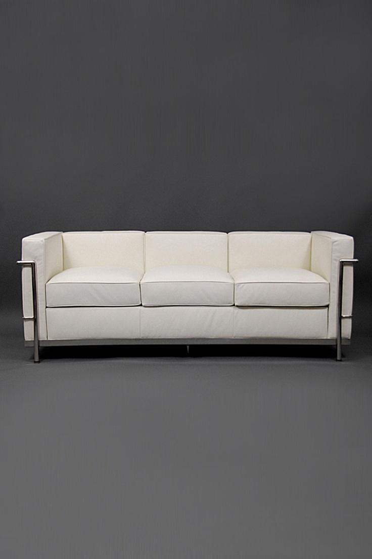 Le corbusier furniture celebrate le corbusier top 5 most famous works - Le Corbusier Couch White Leather