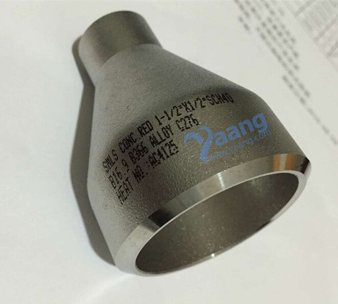 B16.9 B366 Hastelloy C276 Concentric Reducer 1-1/2 Inch x 1/2 Inch x SCH 40 - Yaang