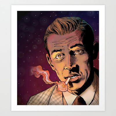 Benny Inked - Full Colour Art Print by Liam Golden - $14.00