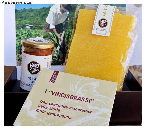 """""""I vincisgrassi"""" una specialità maceratese  nella storia della gastronomia  editore unioncamere  #ricette #marchigiane #vincisgrassi #prodottitipici"""