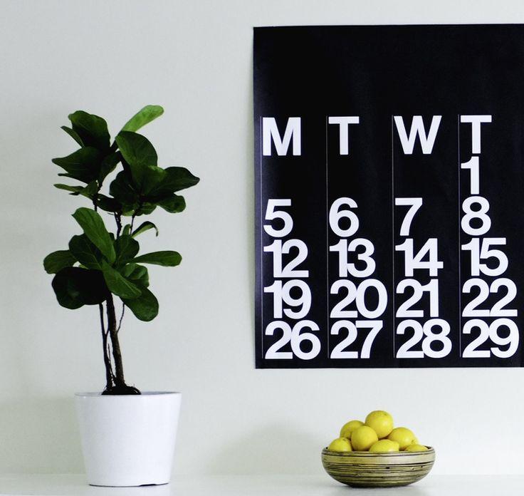 Stendig Calendar Australia 2015