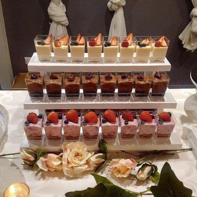 Small Desserts For Weddings
