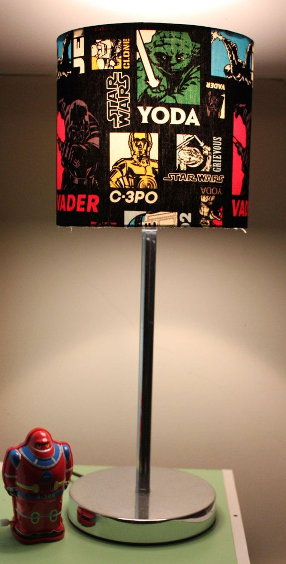 Lamp Shade Star Wars By TwoShadyMonkeys On Etsy