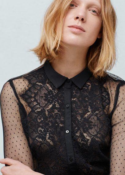 Chemises pour Femme | MANGO France