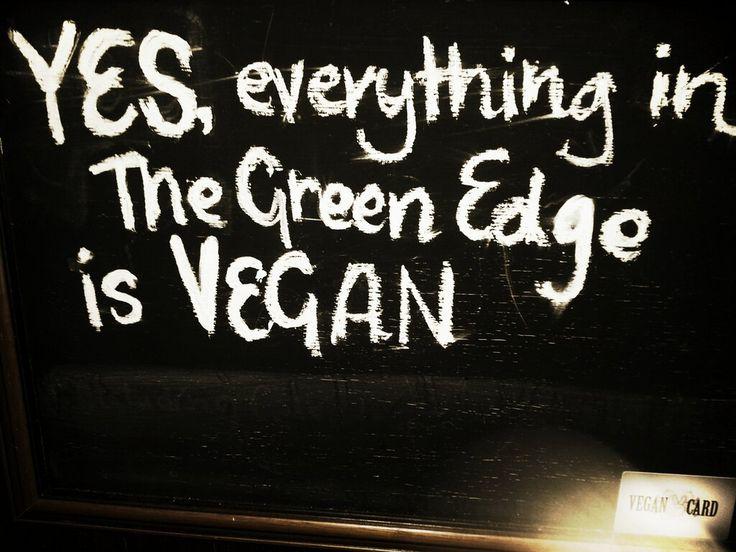 Twitter / VeganCard: Loving us a @TheGreenEdge ...